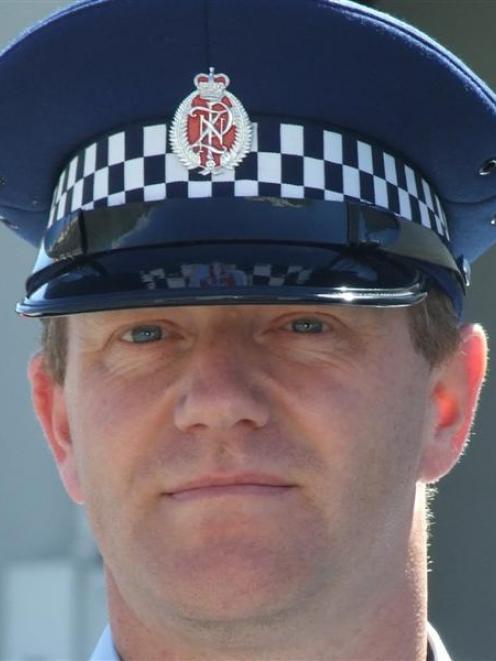 Snr Sgt Craig Dinnissen. Photo: supplied