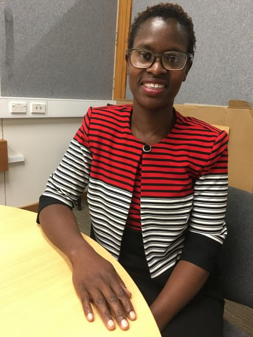Kenyan student Anne Wekesa hopes her research will benefit the New Zealand forestry industry. Photo: David Hill