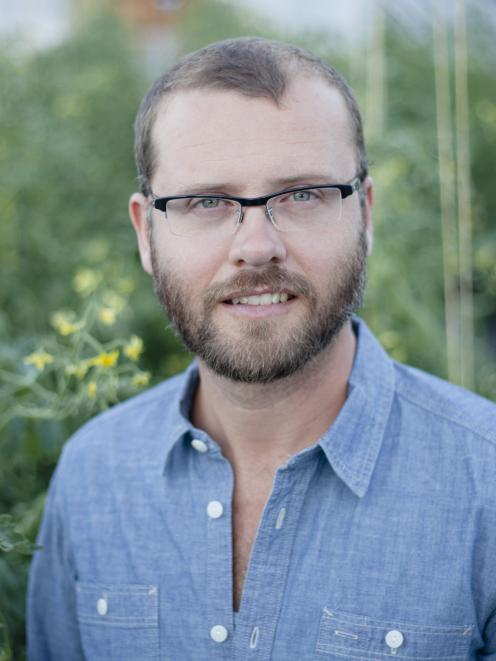 Curtis Stone, Canadian urban market gardener and author of The Urban Farmer. Photo: Supplied