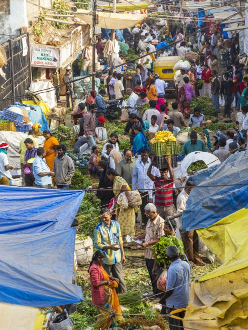 The dynamism, the energy, in India is there for all to see. Photo: Getty Images