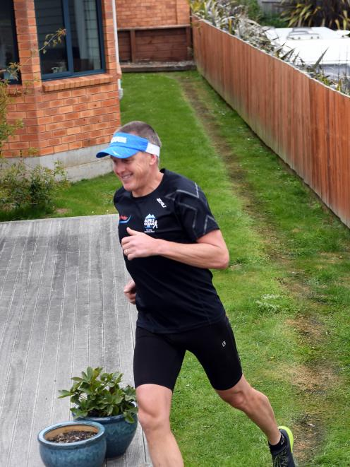 The mental challenge was the biggest barrier for Glenn Sutton to overcome as he ran a marathon by...