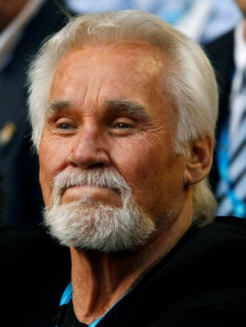 Kenny Rogers. Photo Reuters