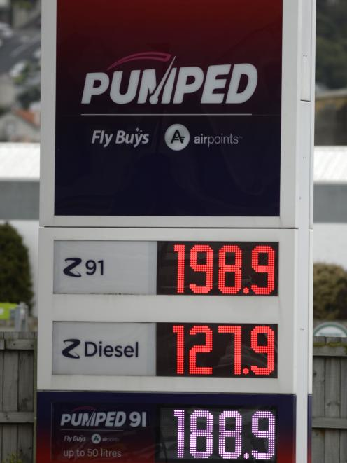 1.98 at the Andersons Bay Z Energy
