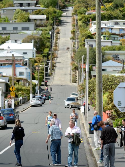 Baldwin St has last its status as the world's steepest street. Photo: Linda Robertson
