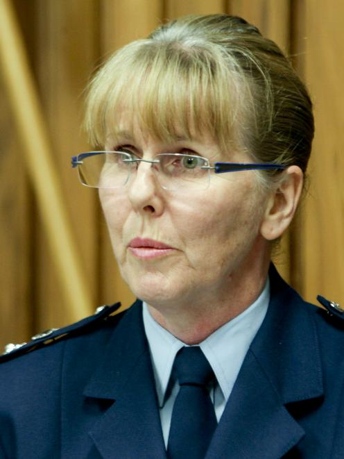Assistant Commissioner Sandra Venables. Photo: NZ Herald