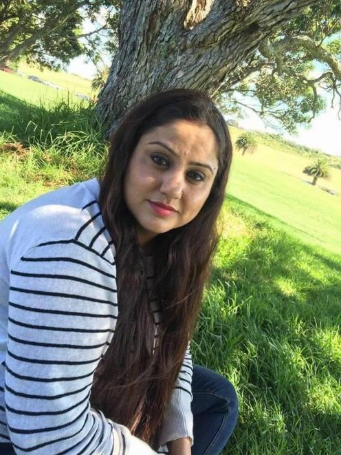Work visa holder Jyotsna is stuck in India and is pleading to be let back into NZ. Photo:...