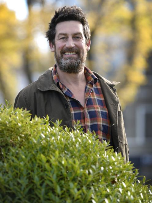 Rhys Millar, project manager of the Halo Project and Predator Free Dunedin, spoke to the Otago...