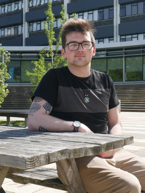 Otago Polytechnic Students' Association president Nathan Laurie. PHOTO: ODT files.