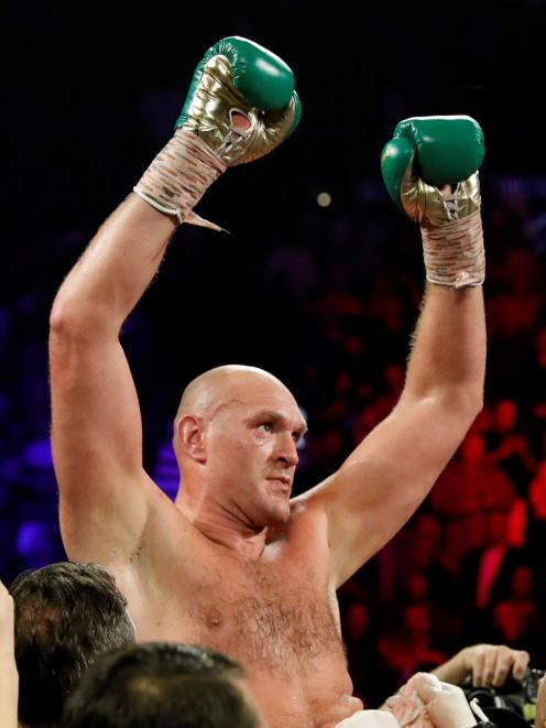 Tyson Fury. Photo: Reuters