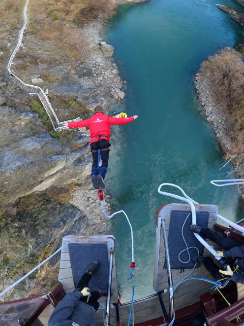 AJ Hackett Bungy has been giving thrill-seekers exhilarating experiences for more than 30 years. Photo: AJ Hackett Bungy