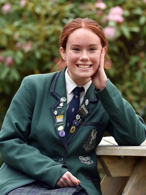 Columba College pupil Isobel Fraser has been selected to represent New Zealand at the World...