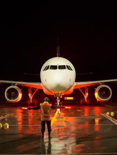 Night flights to Queenstown Airport are expected to lift passenger numbers in the next 12 months....