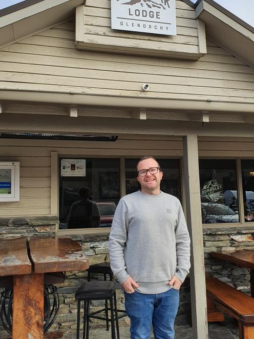 Bold Peak Lodge owner Karl Green refuses to be downbeat after Covid-19, saying locals have gone...
