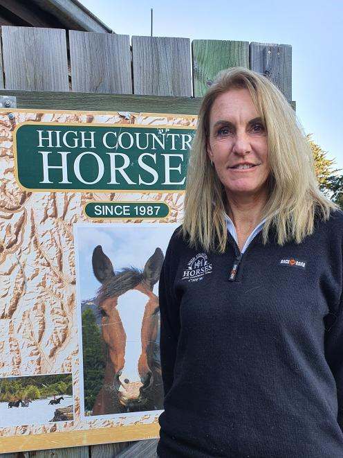 High Country Horses owner Deana Insley wants Glenorchy to become a destination in its own right...