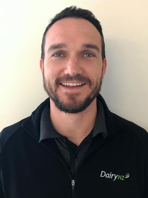 DairyNZ Southland regional leader Ollie Knowles. PHOTO: DAIRYNZ