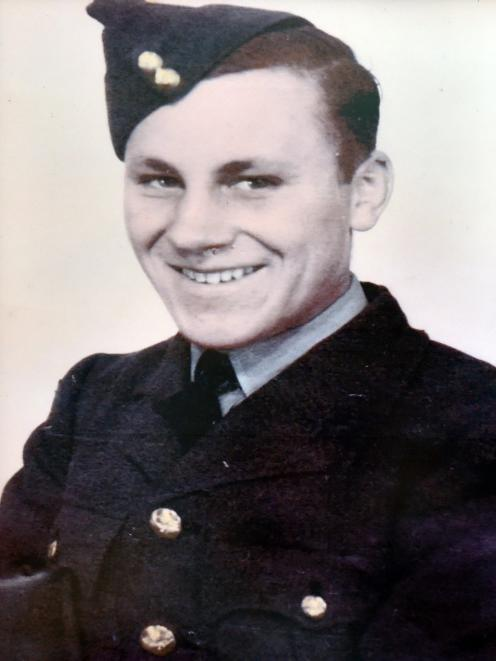Mr Driver when he served in the air force during World War 2.
