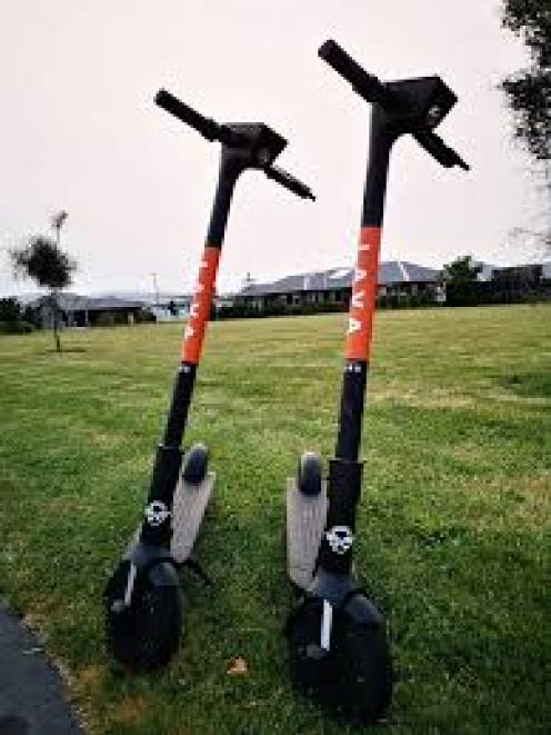 Lava scooters. Photo: Facebook