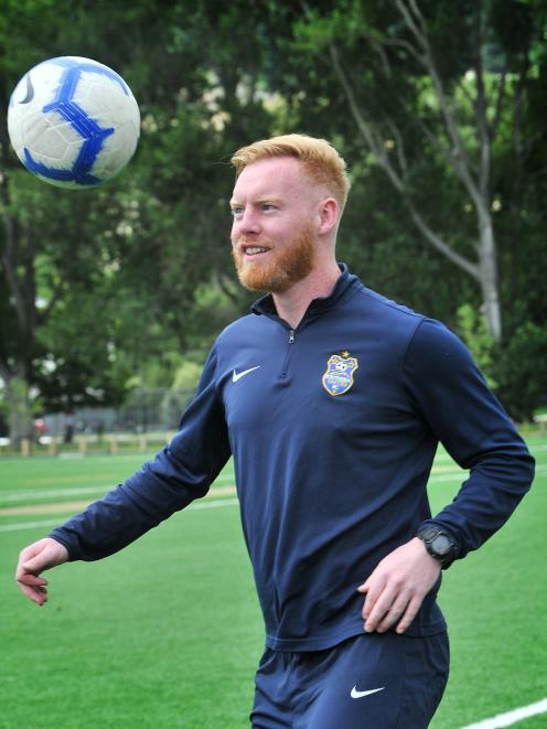 Irishman Stephen Last is staying in Dunedin, even though Southern United is not fielding a men's...