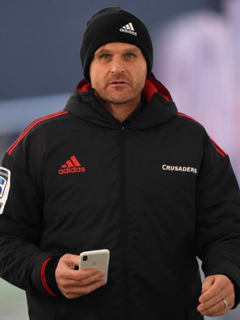 Scott Robertson. Photo: Getty Images