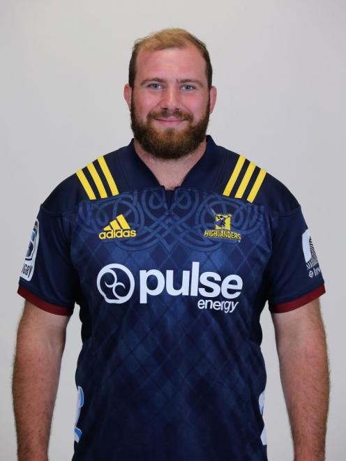 Greg Pleasants-Tate during a stint with the Highlanders. Photo: Getty Images