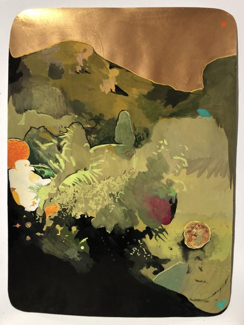 Hill of Monkeys, 2020, by Henry Turner