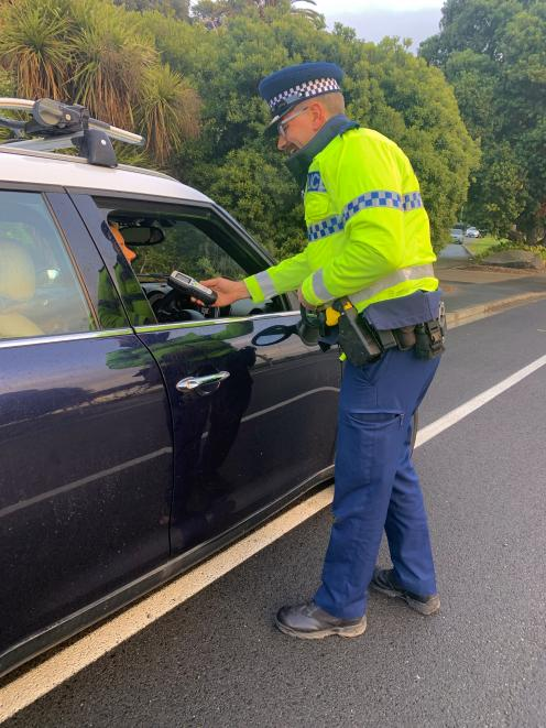 Micro checkpoints are being trialled in Canterbury to catch motorists trying to avoid breath...