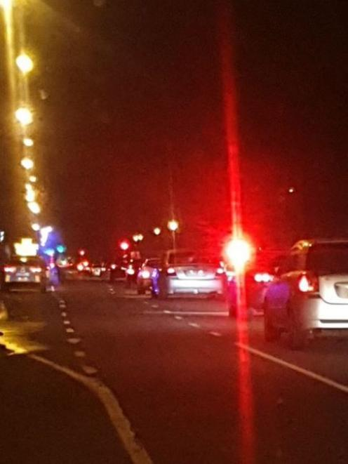 A photo from Facebook group Christchurch Police Check Points. Photo: Facebook