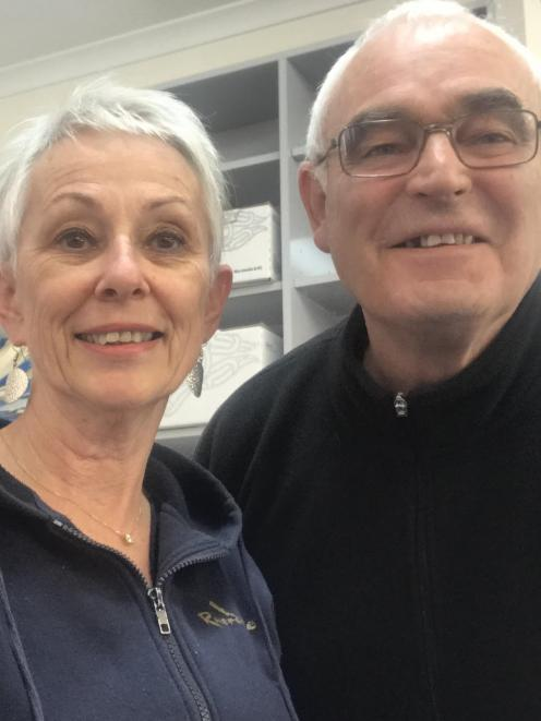 Waikaia Store, Brown Owl Cafe and Waikaia Post Office owner Lyn Brown and 