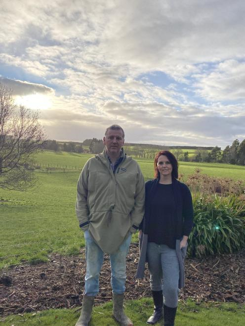Debbie and Jason Smith, of Waimumu, were delighted when their lamb racks were part of a 14-tonne...