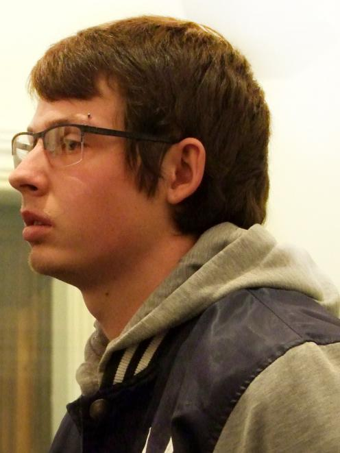 Sex offender Zac Hakes (23) has been jailed for seven months after calling his victim. PHOTO: ROB...