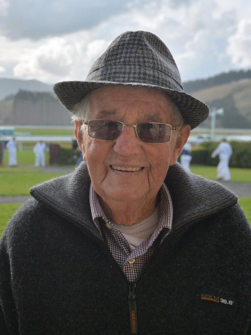 Veteran trainer Brian Anderton was happy to be back on his home track. PHOTO: LINDA ROBERTSON