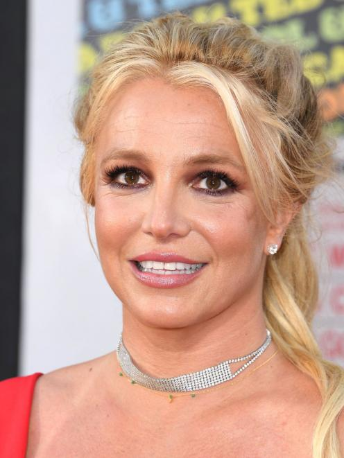 Britney Spears at a premiere in Los Angeles last year. Photo: Getty Images
