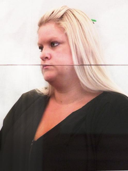 Incessant ... Karen Laing is back behind bars after her latest bout of stalking. PHOTO: ROB KIDD