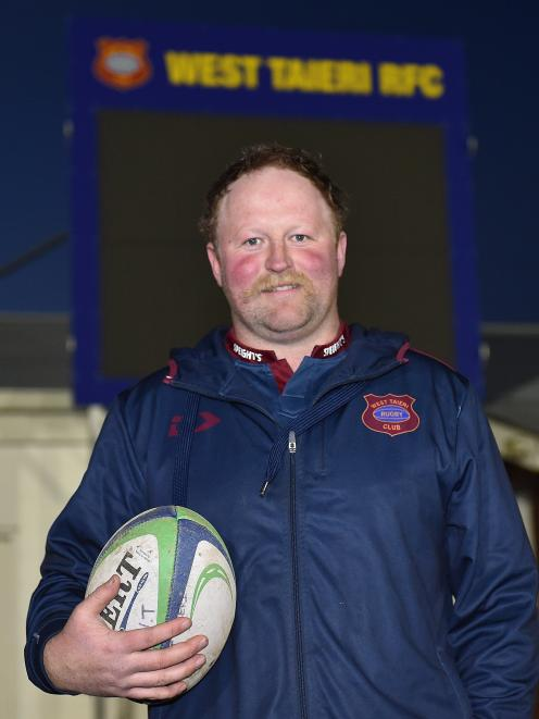 West Taieri prop Kent Duncan, who played his 150th game for the club last ...