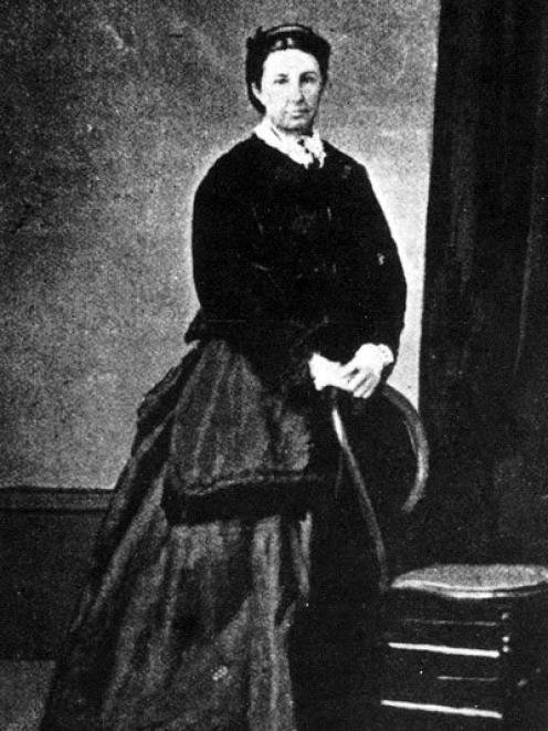 The notorious Minnie Dean, pictured here at the time of her marriage in 1872. PHOTOS: SUPPLIED/NZ...