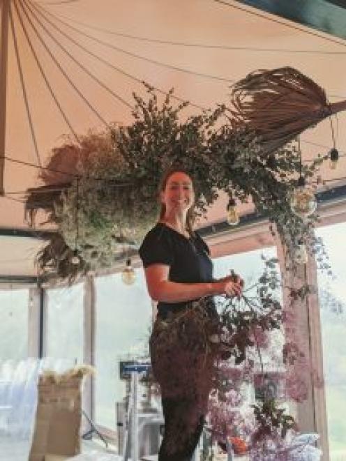 Mairead Fox has juggled careers as a florist and a nurse. Photos: Supplied