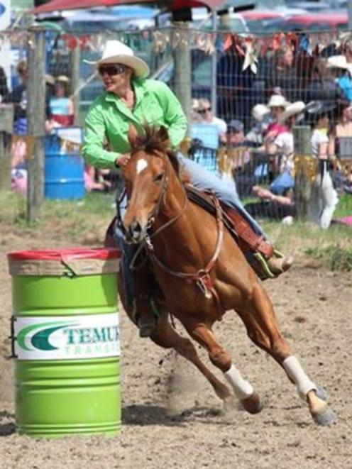 Lynne McCall, of Lindis Pass, had no idea she had been nominated for the New Zealand Rodeo...