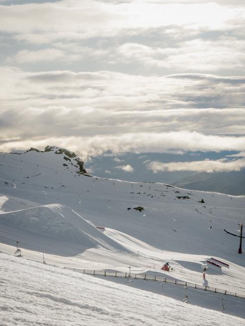 Warmer temperatures at Cardrona Alpine Resort have loosened the snowpack but conditions are still...