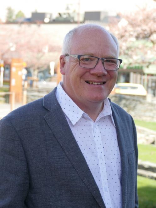 Craig Douglas is the Queenstown Chamber of Commerce interim general manager