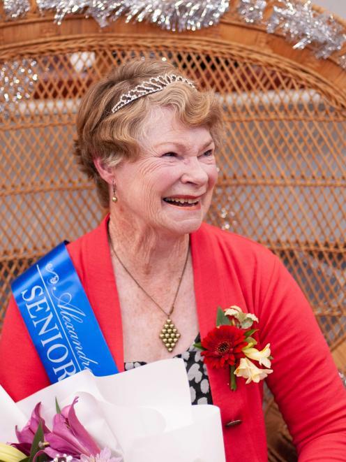 Anne Davies has been named Alexandra Blossom Festival Senior Queen 2020. PHOTO: SHANNON THOMSON