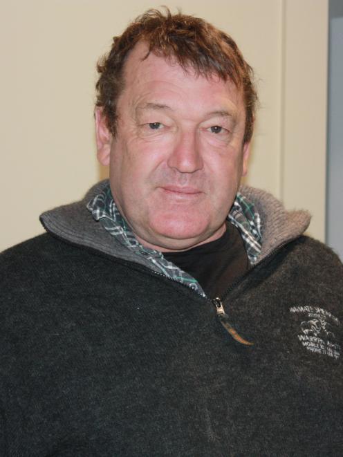 Waimate Shears president Warren White. PHOTO: GUS PATTERSON