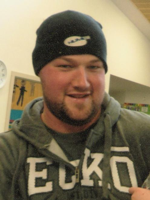 Aaron McLeod, who committed suicide in Dunedin this year. PHOTO: SUPPLIED