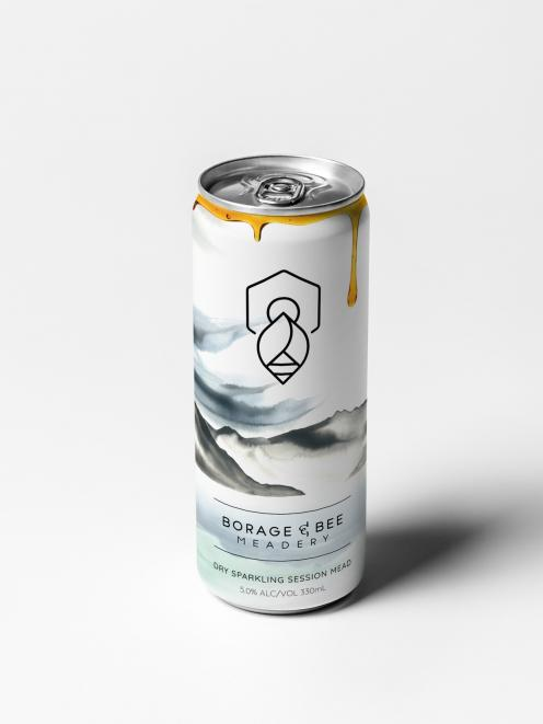 The cans feature a watercolour painting by Wanaka artist Sophie Melville.