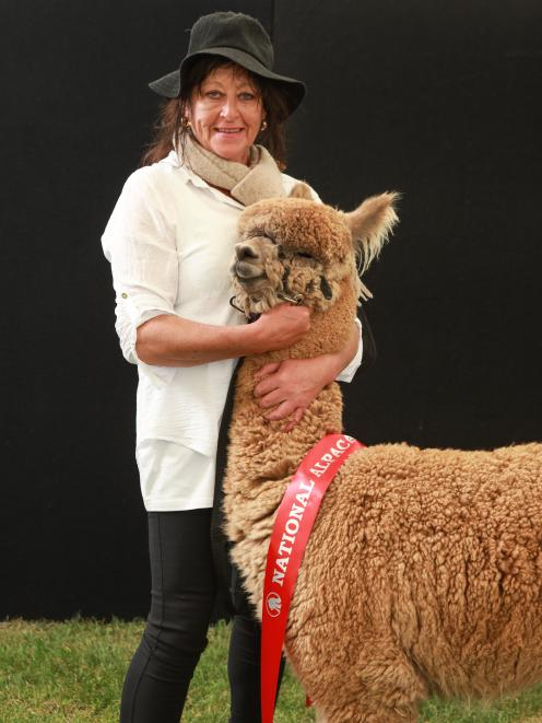 Inca Lodge owner Kim Greenfield won the Mid Dark Fawn Intermediate Male title at the New Zealand...