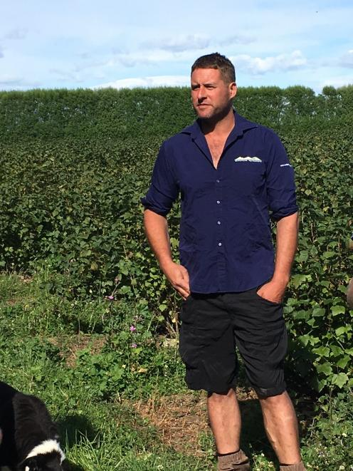 South Canterbury farmer Hamish McFarlane said the problem came down to the fact people were stuck...