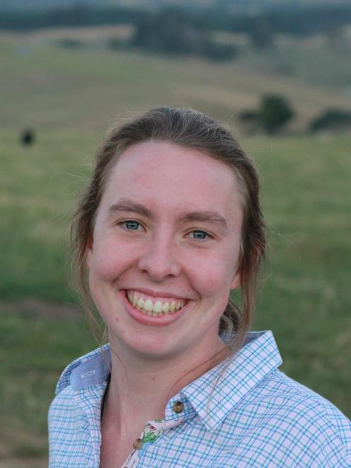 Becky Rickard is looking forward to the Young Farmer of the Year Tasman south district contest....