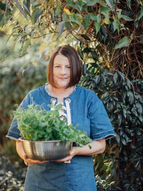 Food writer Kathy Paterson. PHOTO: ANNA KIDMAN