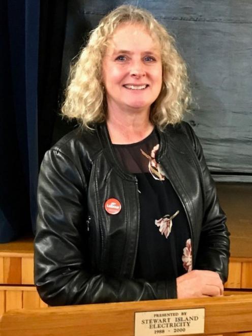Labour Party Invercargill candidate Liz Craig.