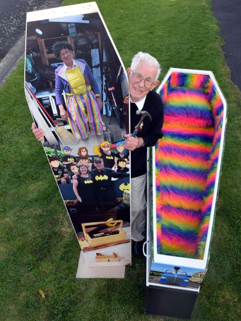 Retired carpenter and joiner Warren ''Poppa'' Ockwell (84) has had a change of tack for his next...