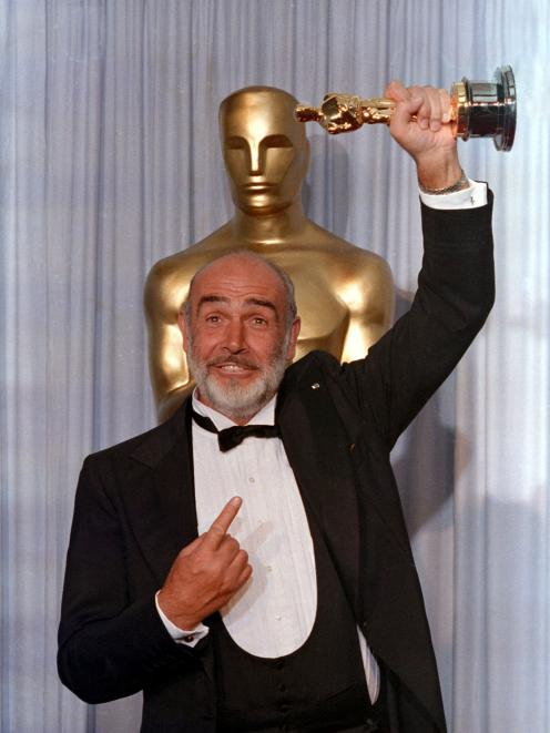 Sean Connery won an Academy Award for his portrayal of a tough Chicago cop in The Untouchables....